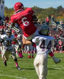 North Rockland star Jayden Cook makes key reception