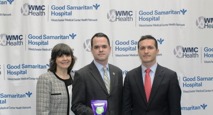 Carlucci & Good Samaritan Hospital Team Up to Distribute Opioid Deactivation Pouches Donated by Mallickrodt Pharmaceutical