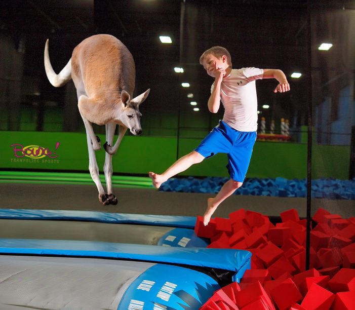BOUNCE! RECREATES ICONIC PHOTO TO CELEBRATE VALLEY COTTAGE FRANCHISE'S 5TH ANNIVERSARY