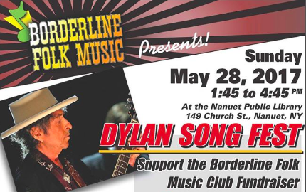 Borderline Folk Music Club Presents a Bob Dylan Songfest