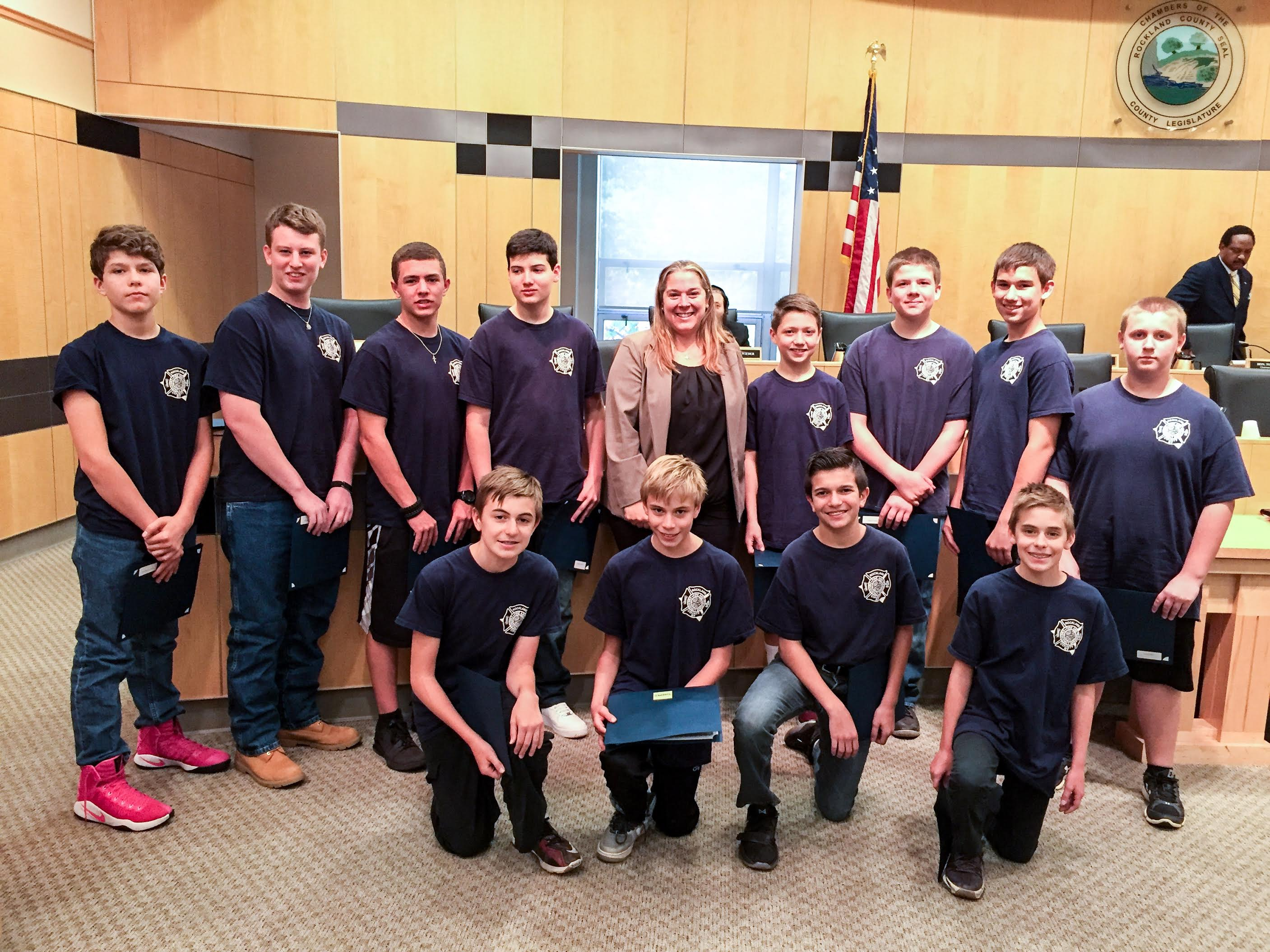 Santulli Honors Fire & EMS Youth Academy