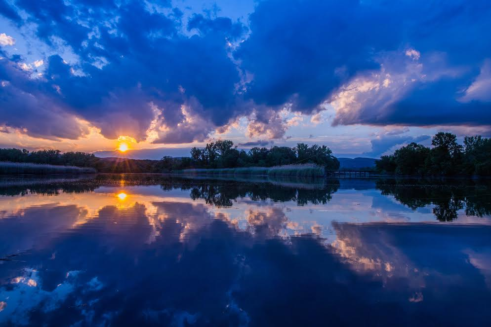 SCENES OF ROCKLAND: Heavenly Sunset