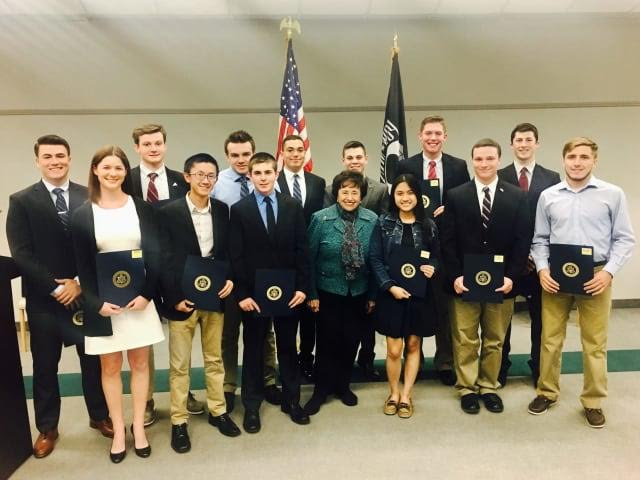 NITA LOWEY NOMINATES EXCEPTIONAL STUDENT FOR THE NATION'S MILITARY ACADEMIES