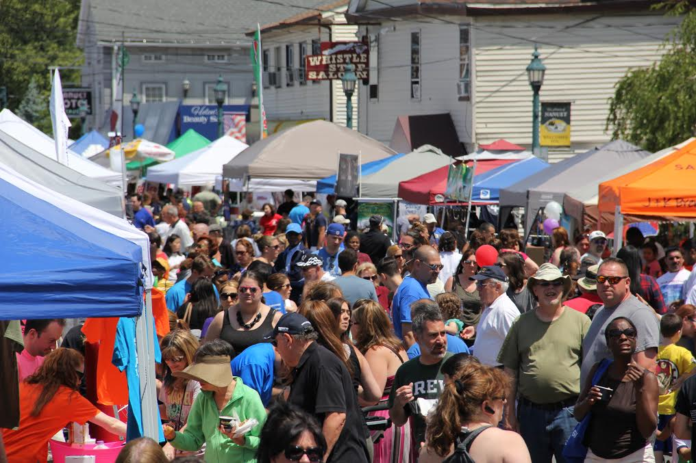 NANUET STREET FAIR ON JUNE 4TH FEATURES LOCAL ENTERTAINMENT, GREAT FOOD AND BRINGS BACK OLD FASHIONED FAMILY GAMES FOR 2017