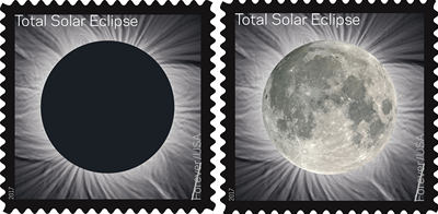 Snail Mail Senders Can Witness A Mini-Solar Eclipse With New Postage Stamps