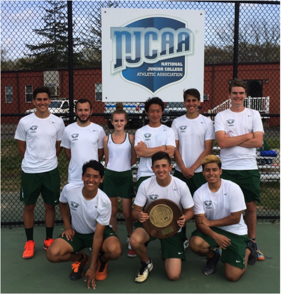 RCC Tennis Qualifies for Nationals; Off to Texas