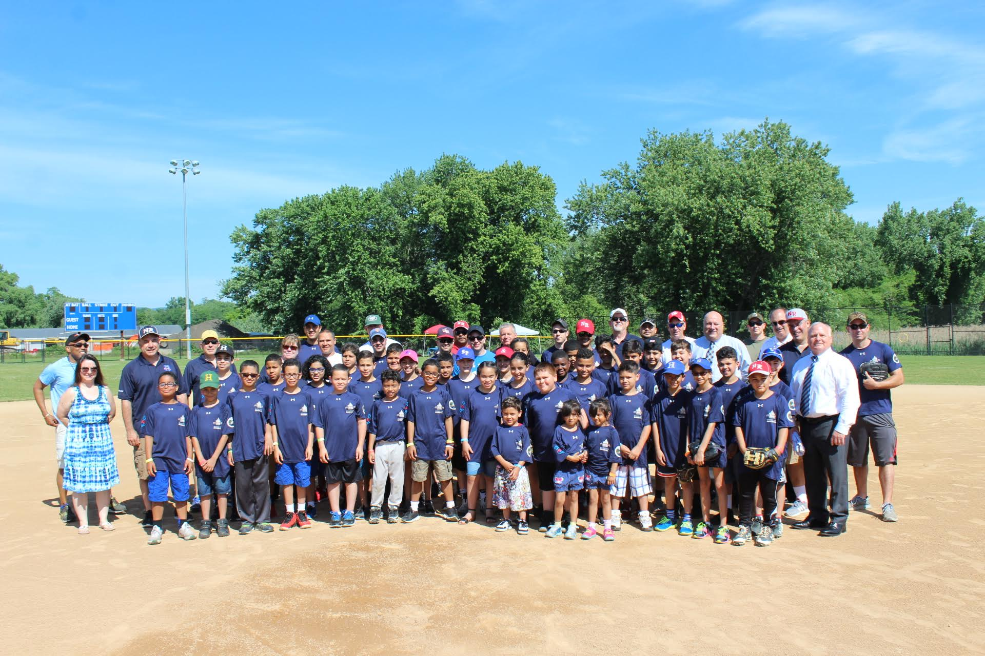 BADGES FOR BASEBALL CLINIC HOSTED BY HAVERSTRAW PAL