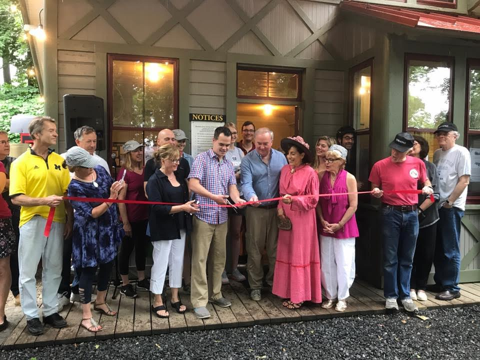 Restoration of Piermont Railroad Station Museum Complete
