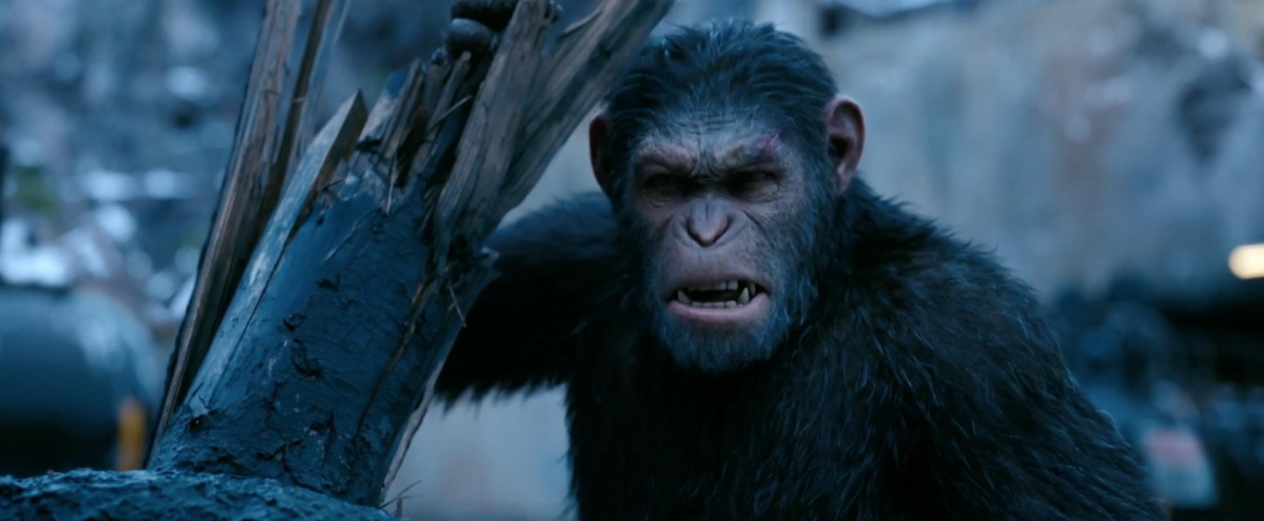 The Apes Make Their Final Stand