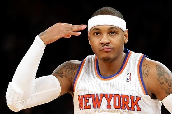 LEAGUE SOURCES SAY MELO WILL BE MOVED