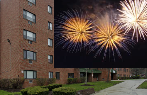 INDEPENDENCE DAY MELEE: Nyack Plaza site of July 4th stabbing and gun shots, cops and witnesses say