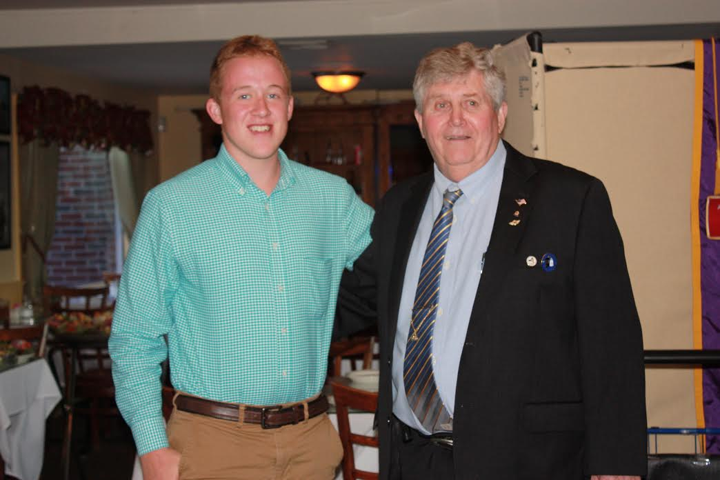 WILLIAM BABCOCK EARNS STONY POINT LIONS SCHOLARSHIP