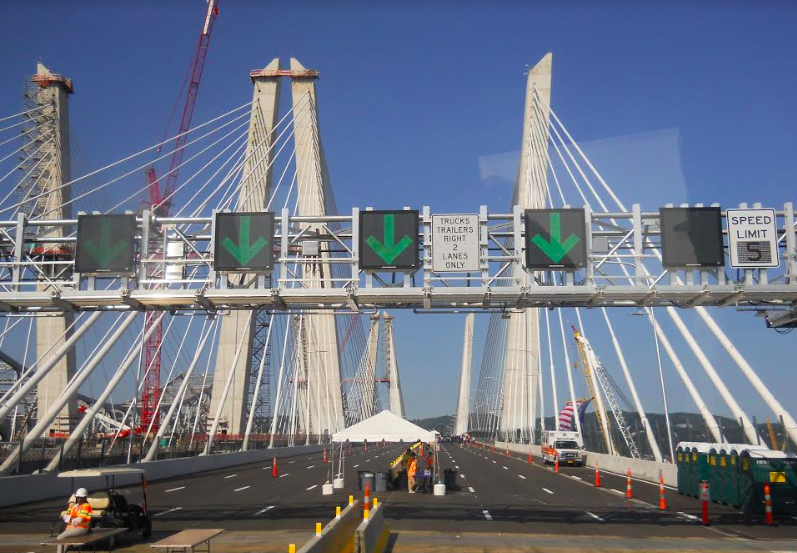 Following ceremony, new Tappan Zee Bridge westbound span opens | The ...