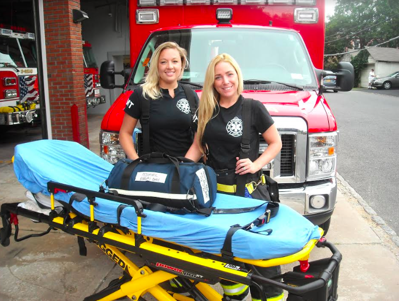 Unsung Heroes: Samantha Baez and Hope Goswick, Piermont Fire Department EMT Volunteers