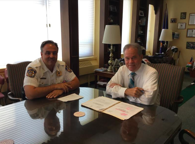 Rockland County Executive, Sheriff Sign Resolution for Homeland Security Grant