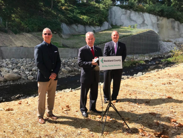 Creek Embankment Stabilization Project Completed in West Haverstraw Work