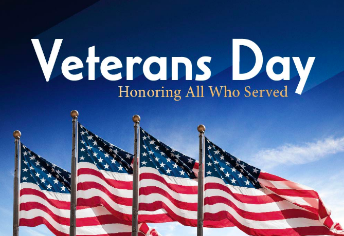 Veterans Day Events & Offers