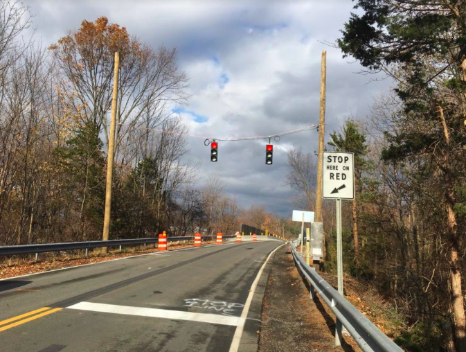 Hungry Hollow Bridge in Chestnut Ridge Reopens