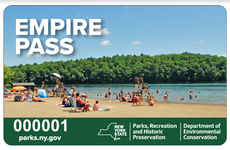 New York State Parks Unveils Special Sale on the 2018 Annual Empire Pass Card