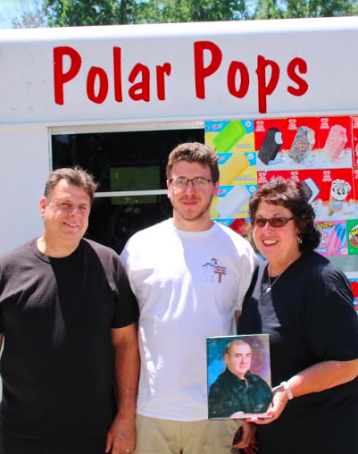 'POLAR POPS' Ice Cream truck gives all proceeds away to charity in honor of their son, Timothy DeVisser