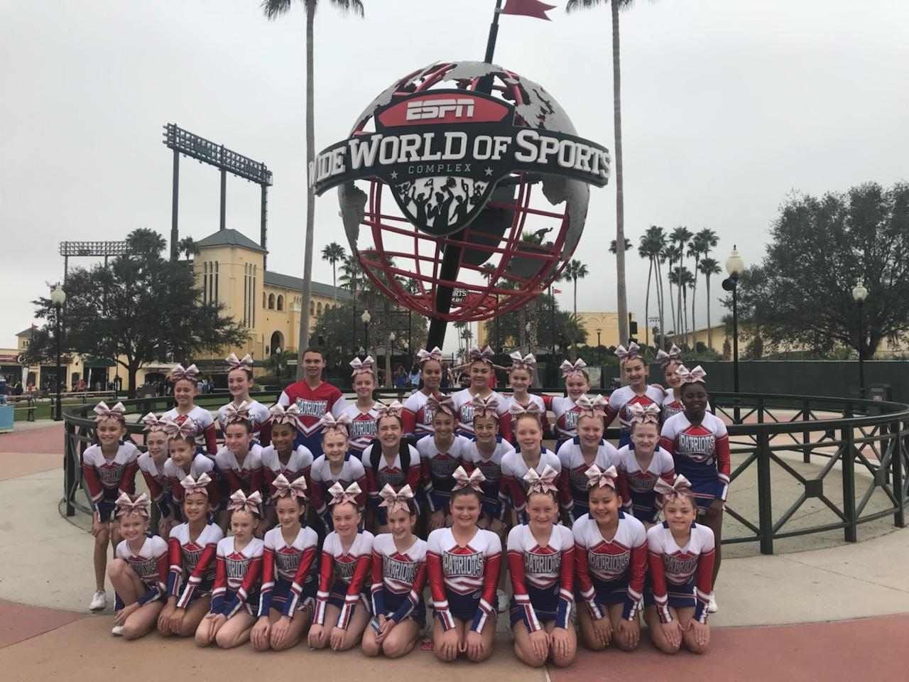 Orangetown Pop Warner Cheer Also Pulled Off National Championship Last Month
