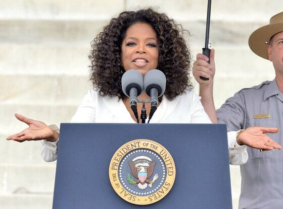 OPRAH 2020 TALK HEATS UP