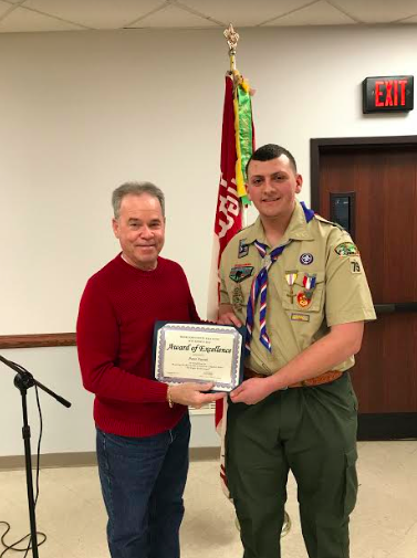 Clarkstown North Graduate becomes Eagle Scout