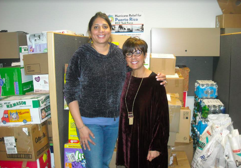 Volunteers of the Week: Inez Rivera and Ronnie Rolls, Rockland Community College Hurricane Relief for Puerto Rico Task Force Members