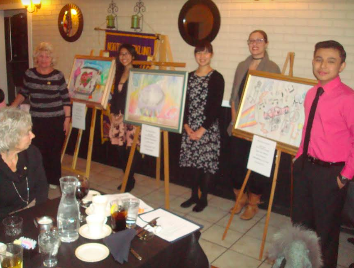 """Fieldstone Student takes First Prize in North Rockland Lions Club """"Peace Poster Contest"""""""