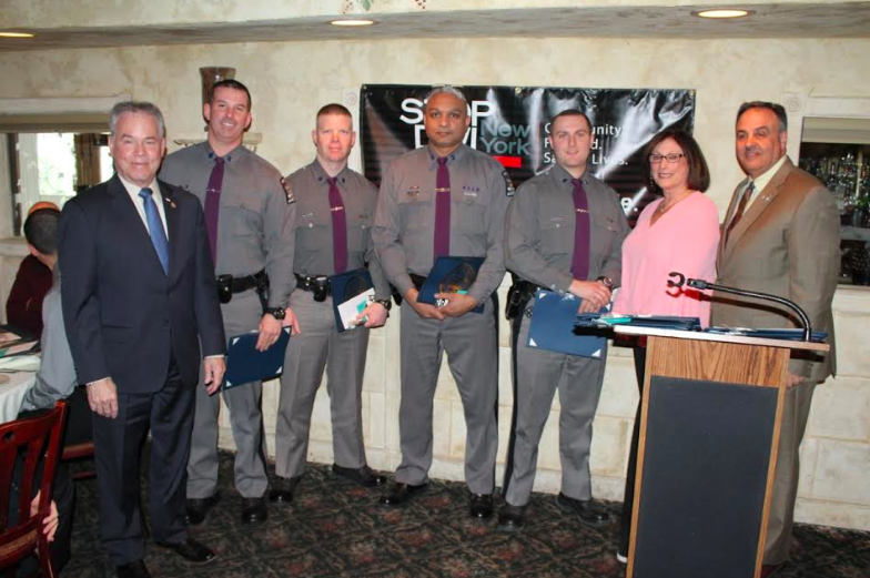 ANNUAL STOP DWI AWARDS HANDED OUT