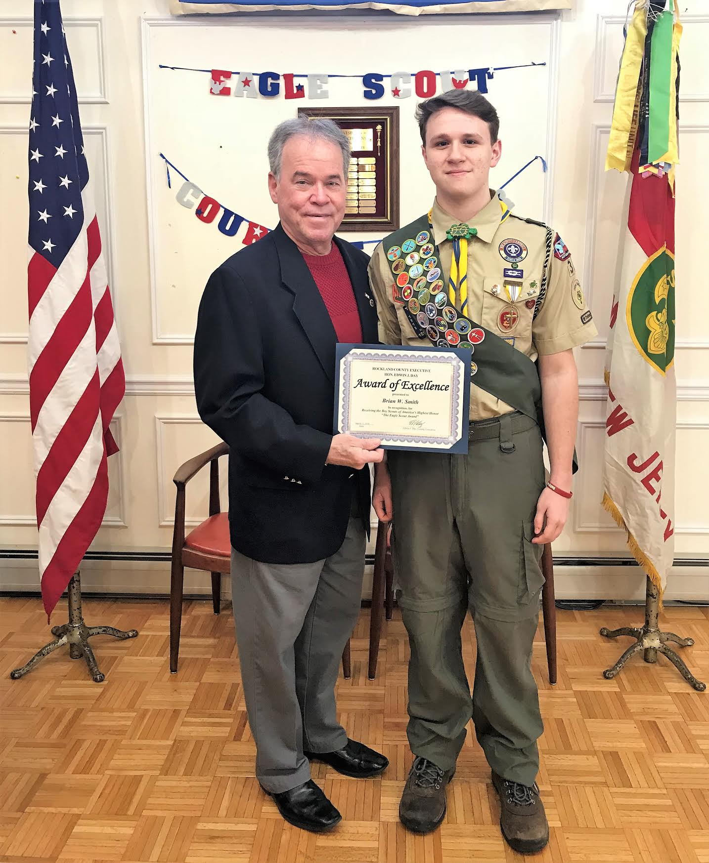 Sloatsburg resident becomes Eagle Scout