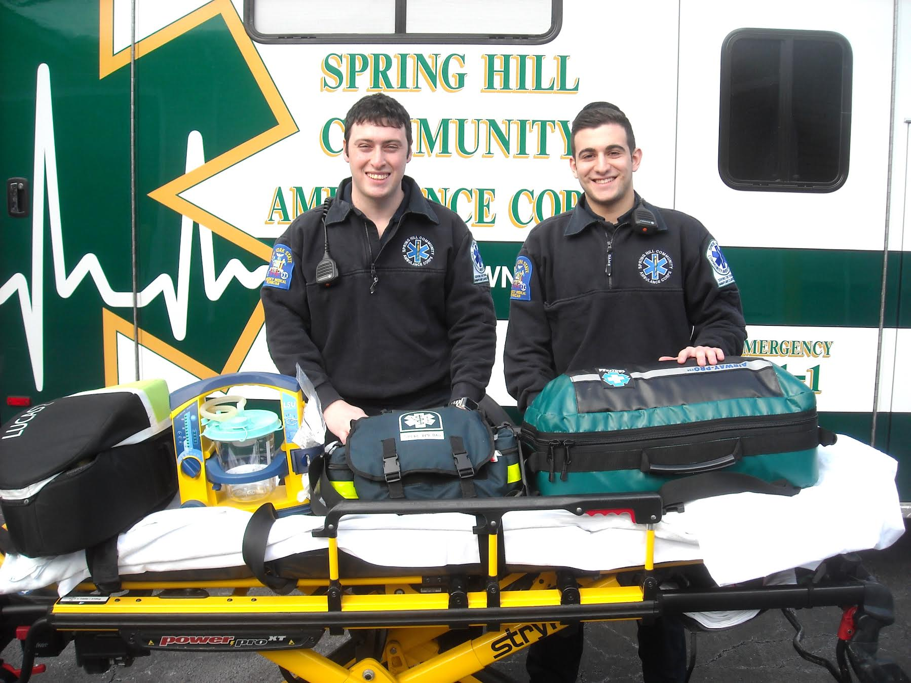 Unsung Heroes: EMT Yisroel Ziegler & EMT Arin Shatkin, Volunteers for the Spring Hill Community Ambulance Corps