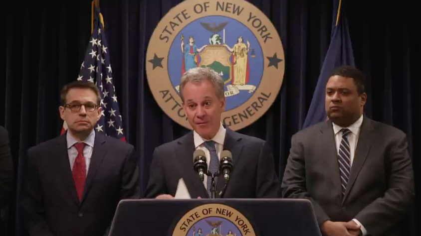 AG Eric Schneiderman resigns amid accusations of physical abuse by four women