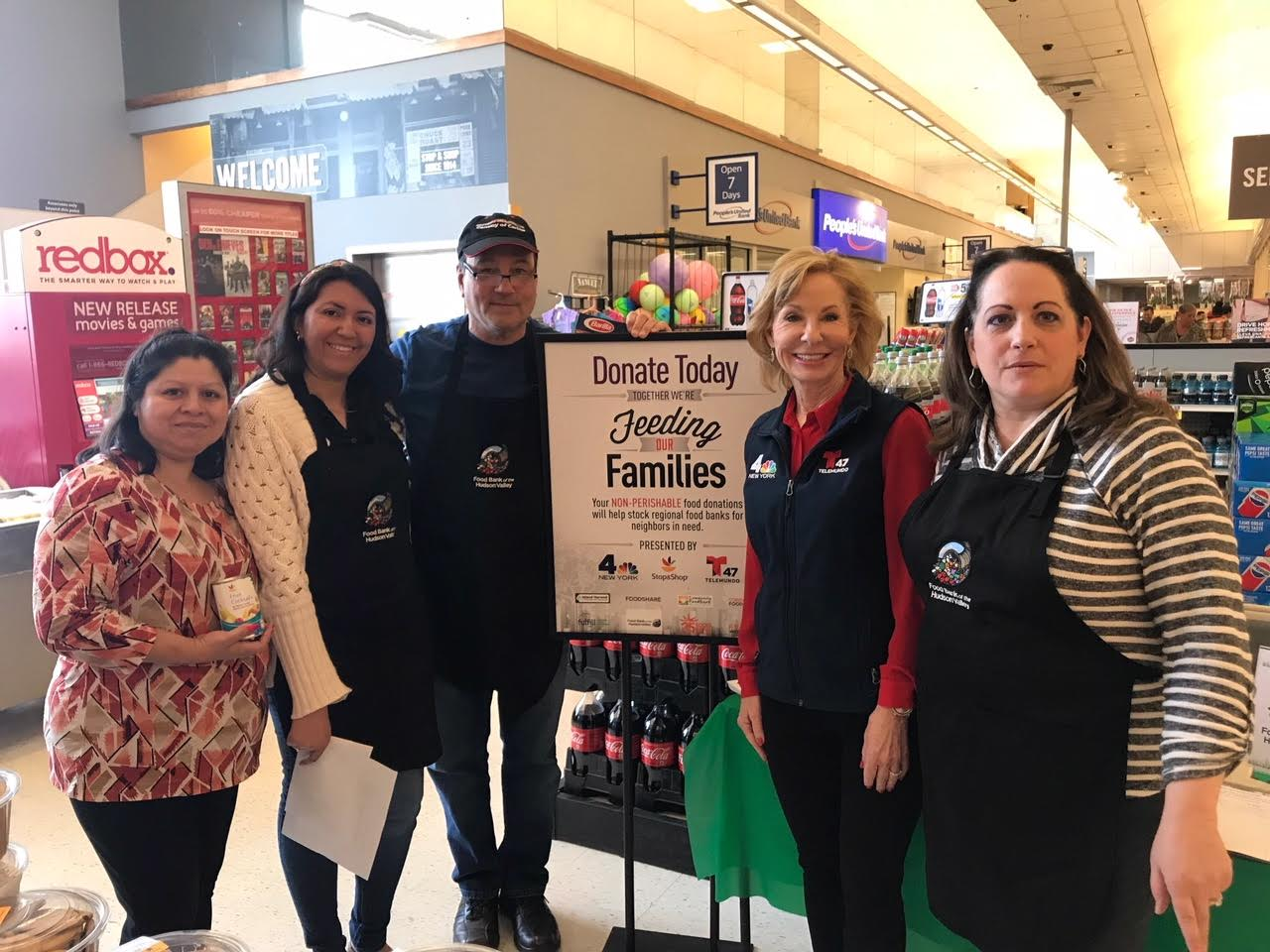 NBC 4 NEW YORK, TELEMUNDO 47 AND STOP & SHOP TEAM UP TO DELIVER 1.9 MILLION MEALS FOR FAMILIES IN NEED