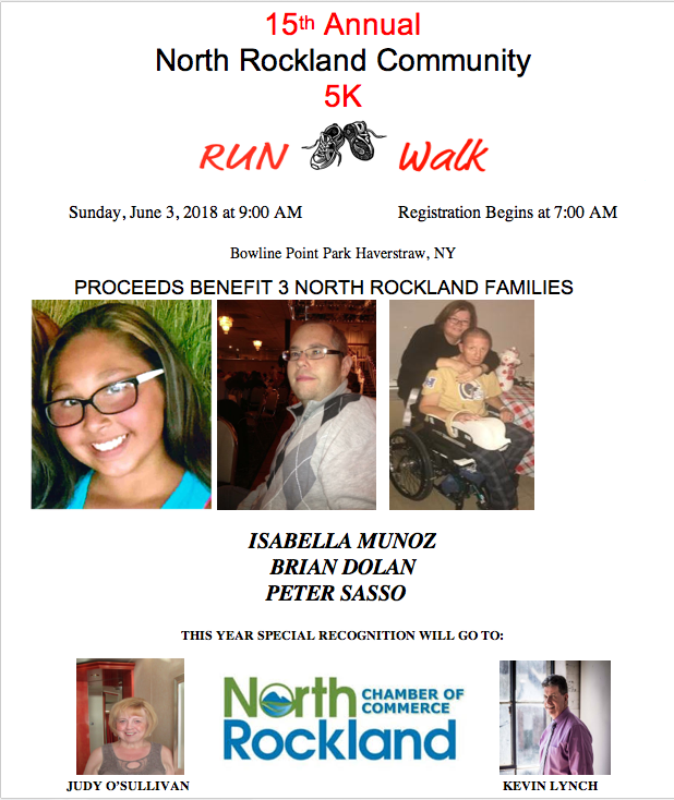 The 15th Annual North Rockland Run/Walk takes place today