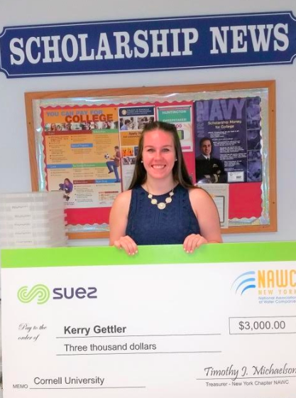 ROCKLAND STUDENTS RECEIVE $3,000 SUEZ-NAWC SCHOLARSHIPS