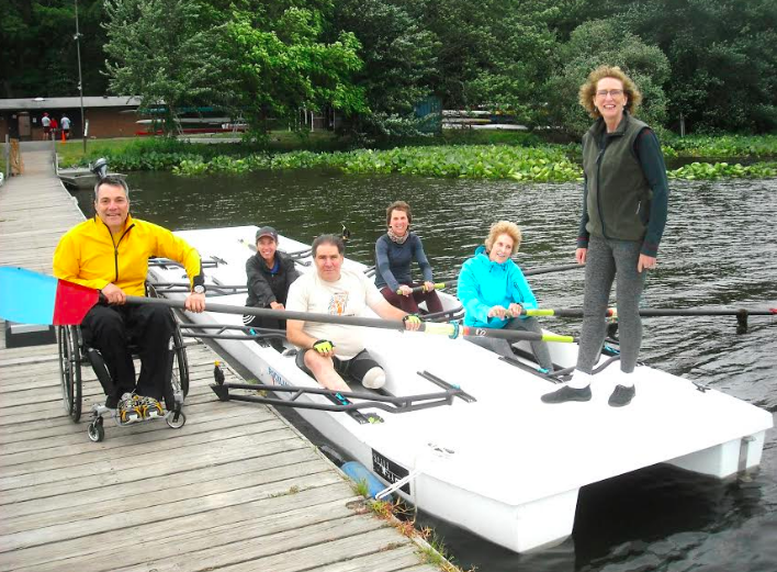 Volunteer of the Week: Diana Costanzo, Adaptive Rowing for People with Disabilities