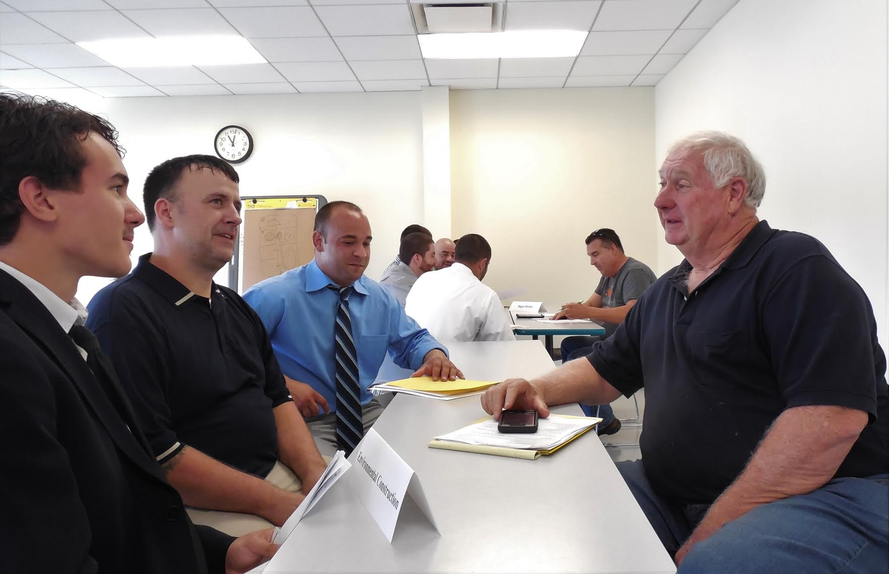 O&R Gas Operator Tech Training Grads Meet Their New Bosses