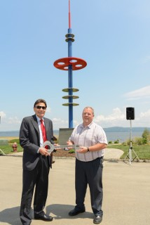 GINSBURG AND HAVERSTRAW CELEBRATE COMPLETION OF WATERFRONT PROMENADE PARK