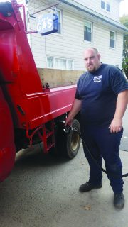 Jim Maher, new owner of Rockland County's northernmost gas pump