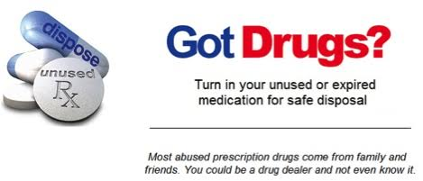 SOLID WASTE AUTHORITY OFFERS TO DISPOSE OF YOUR DRUGS