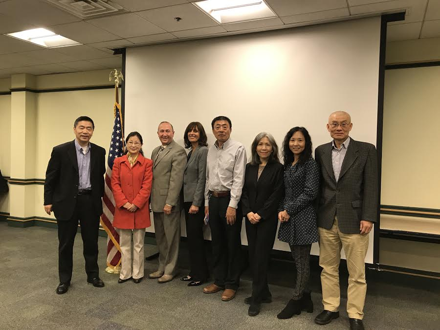 Rockland officials meet with Chinese investors