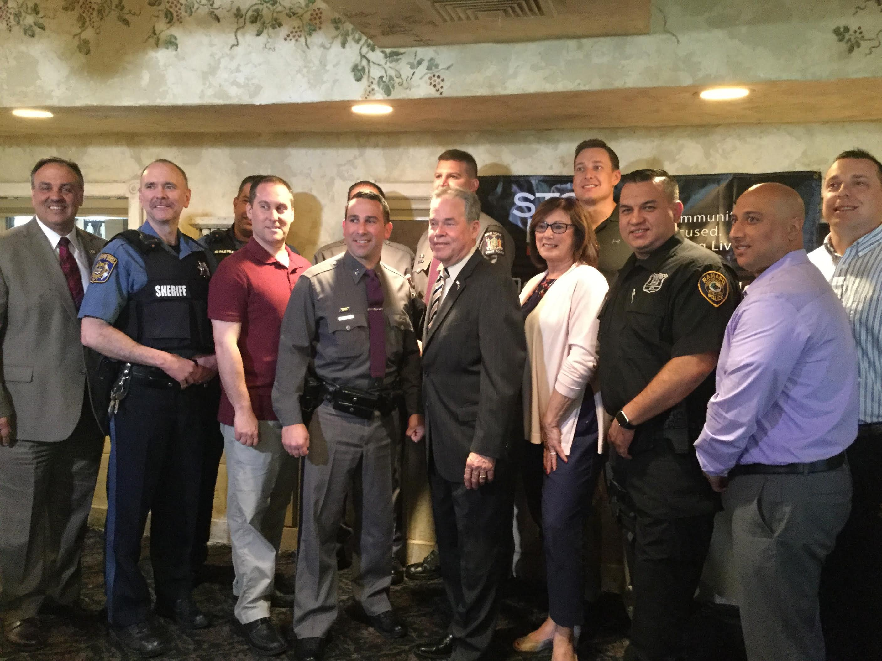 Rockland County Executive Honors 19 officers for DWI Arrests That Keep Our Communities Safe