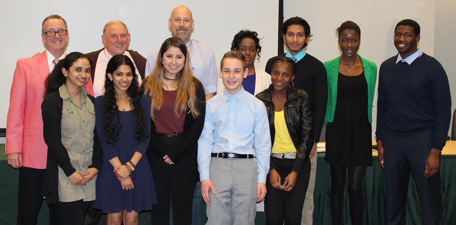 12 RCC STUDENTS INDUCTED INTO NATIONAL BIOLOGICAL HONOR SOCIETY