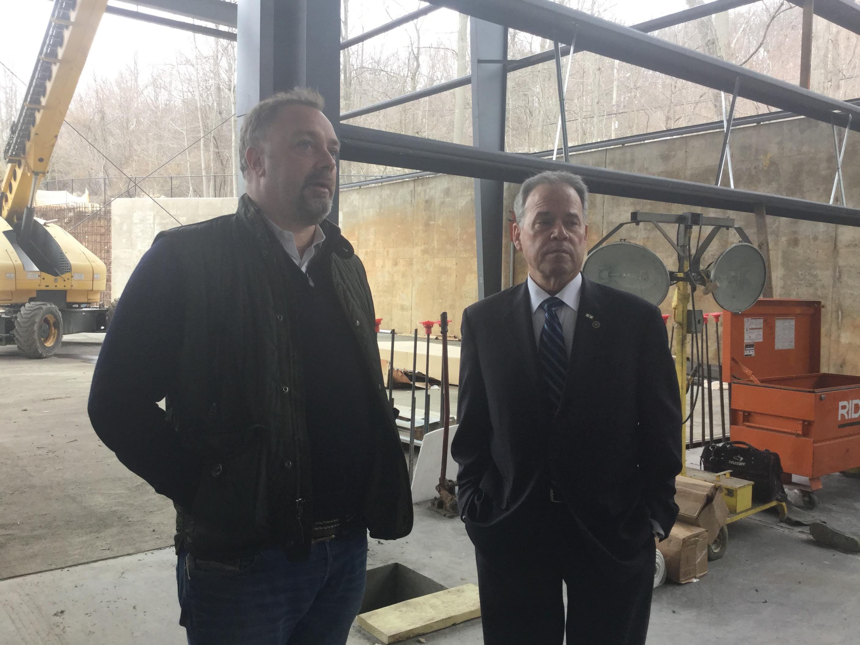 Rockland County Executive Ed Day Praises Congers Business