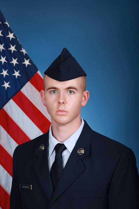 THREE ROCKLAND MEN COMPLETE AIR FORCE BASIC TRAINING