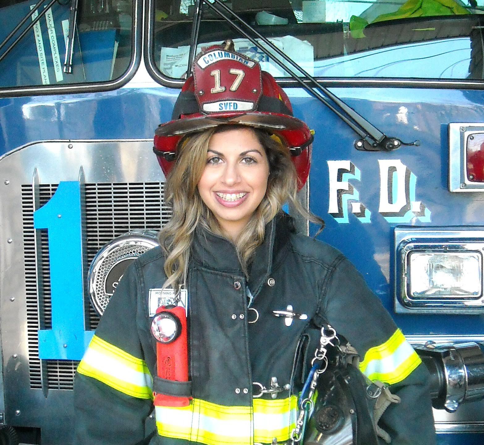 Unsung Heroes: Emily Atar, Volunteer Firefighter for the Spring Valley Fire Department
