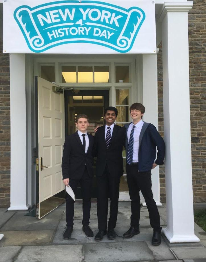 TZHS TEAM TAKES SECOND PLACE IN NYS HISTORY DAY COMPETITION