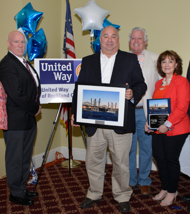 UNITED WAY HONORS O&R FOR TOP-DONOR FUNDRAISING CAMPAIGN