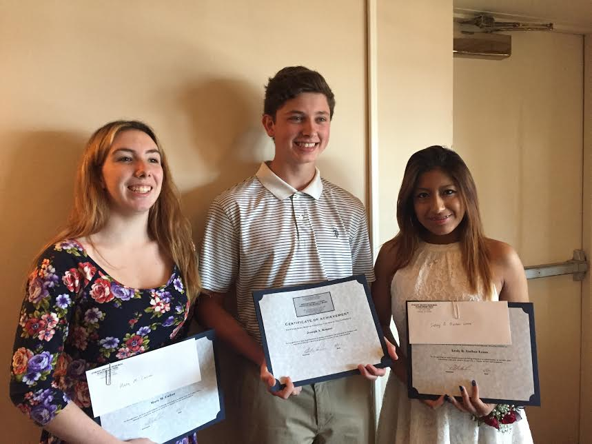 THREE ROCKLAND BOCES STUDENTS AWARDED BRINKS SCHOLARSHIPS